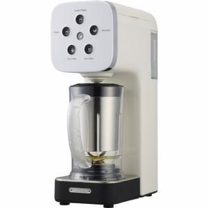 【納期約1~2週間】ドウシシャ QCR-85A-WH 「SOLUNA クワトロチョイス」 コーヒーフラッペメーカー ホワイト QCR85AWH WH