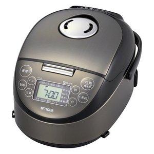 【納期約7~10日】TIGER タイガー IH炊飯ジャー JPF-A550 K サテンブラック 3合炊き JPFA550K
