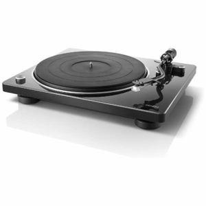 【納期約7~10日】DENON デノン DP-400BKEM マニュアル式レコードプレーヤー ブラック DP400BKEM