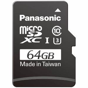 【納期約1~2週間】Panasonic パナソニック 64GB Class3(Class10)対応microSDXC UHS-Iカード RP-SMGB64GJK RPSMGB64GJK