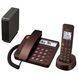 【納期約7~10日】SHARP シャープ JD-XG1CL-T デジタルコードレス電話機(子機1台/ ブラウン系) JDXG1CLT