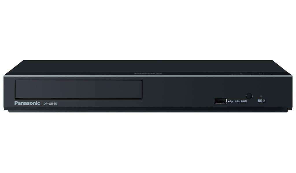 【納期約3週間】Panasonic パナソニック DP-UB45-K 4K Ultra HD ブルーレイプレーヤー 再生専用機 DPUB45K