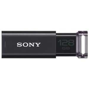 【納期約2週間】SONY ソニー USB3.0対応 USBメモリー ポケットビット 128GB(ブラック) USM128GU-B USM128GUB