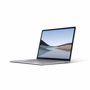 【お一人様1台限り】【納期約4週間】【代引き不可】Microsoft マイクロソフト VGZ-00018 ノートパソコン Surface Laptop 3 15インチ プラチナ VGZ00018