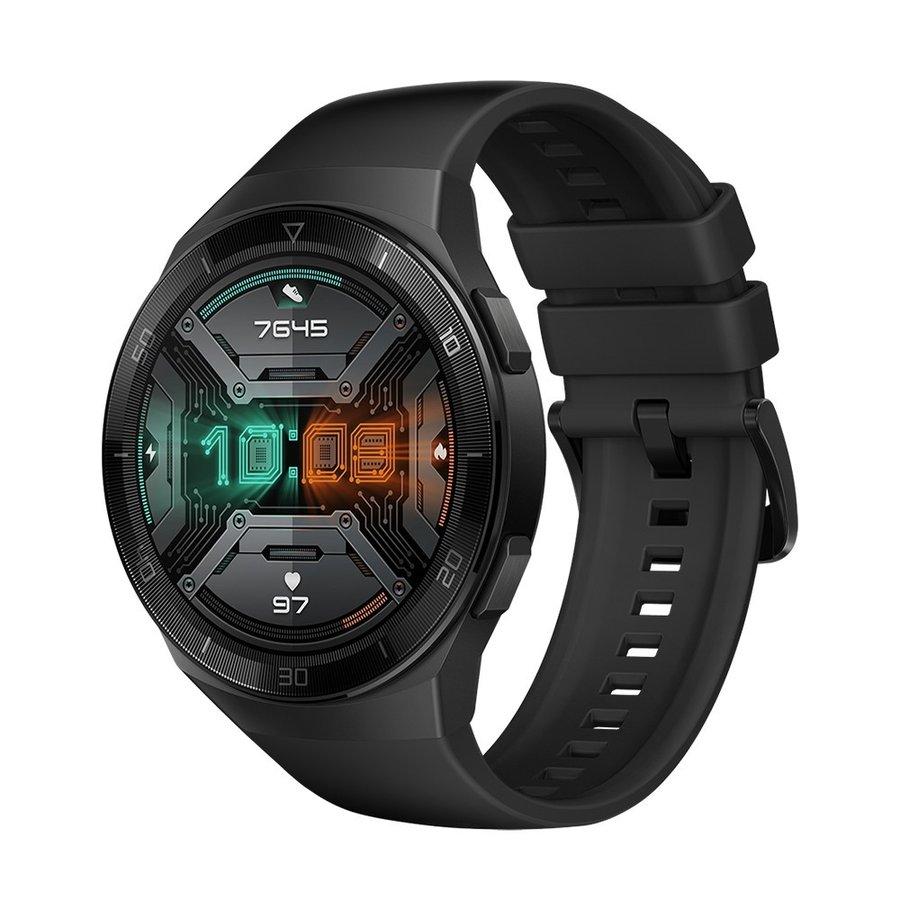 【納期約7~10日】 HUAWEI ファーウェイ WATCH GT 2e(46mm)グラファイトブラック スマートウォッチ WATCHGT2E46MMBK