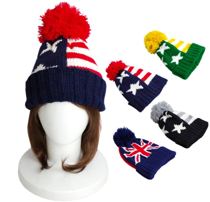 pulle-feuille     ☆ BIG Pom Pom with stars article flag  amp amp ... d365f25124
