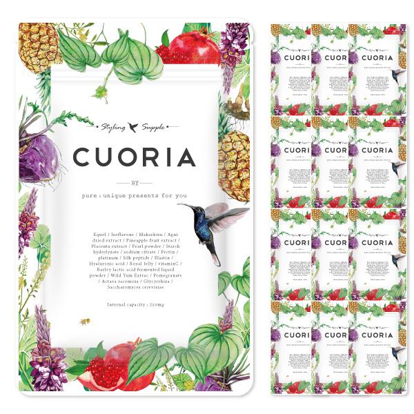 クオリア12袋セット pupustore 正規取扱店 CUOIRIA-クオリア-年間購入 上品 公式