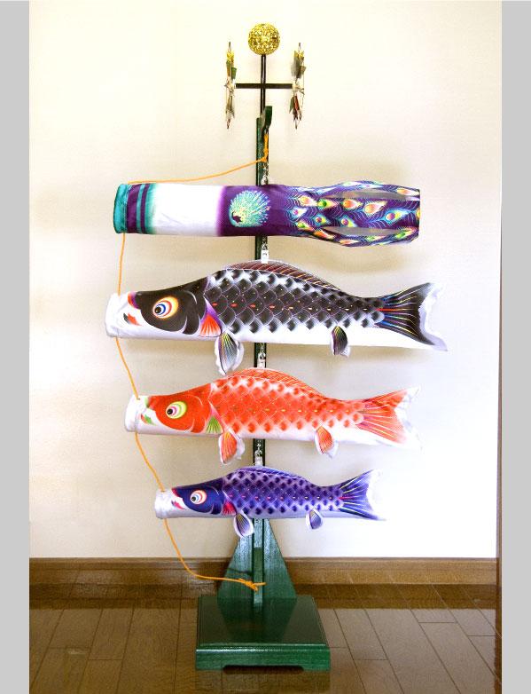 室内飾り鯉のぼり 星歌友禅