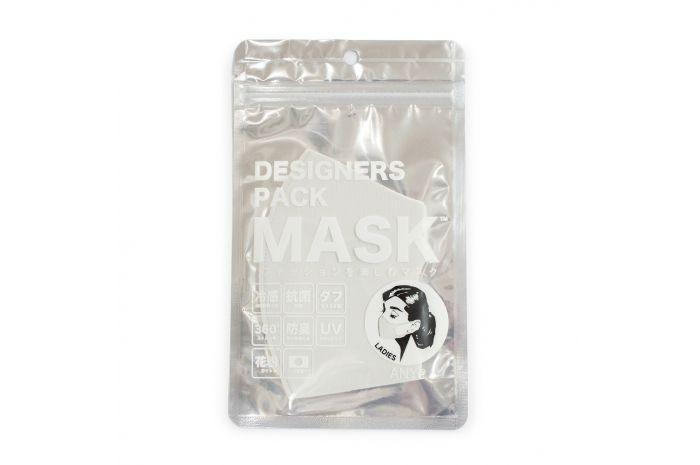 エニーマスク レディース 洗えるマスク 布マスク 抗菌 在庫一掃 日本製 冷感 防臭 高密度 50回洗える 学校用 おすすめ マスク 肌に優しいマスク デザイナーズパック ANYe Lグレー 仕事用