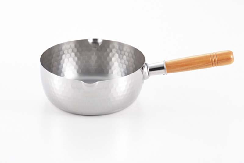 鍋 料理 キッチングッズ 調理器具 台所 なべ 使いやすい 4979487767538 メーカー公式 ヨシカワ 購買 便利 目盛り付き ステンレス雪平鍋 YH6753