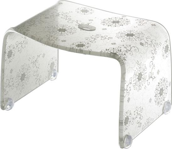 風呂 椅子 イス かわいい 北欧風 バス用品 バスタイム フロ 使いやすい Sサイズ オフホワイト risu OW 人気 オリジナル 滑り止めゴム付 リス 入浴 フィルロシュシュ バスチェアー 送料無料 S