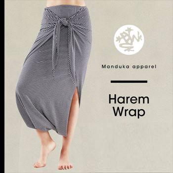 "Japanese regular article [Manduka] harem lap (yoga bottoms for the woman) ★ 17SS Harem Wrap yoga wear yoga wear yoga pantskirt sarouel pants pattern ボーダーストライプレディースマンドゥカ << #712254 >> | 70201| ""FA:"" << K >>"