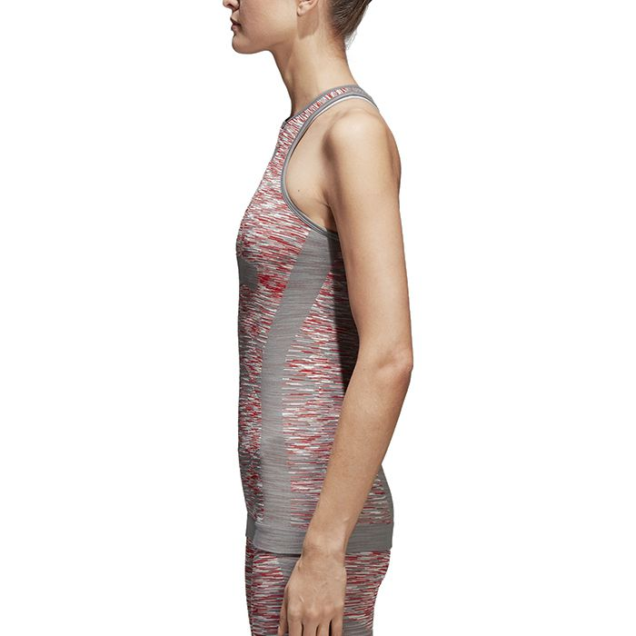 214c1a0dc5550 Tank top of the seamless structure to just fit skin adidas by Stella  McCartney YOGA seamless tank top