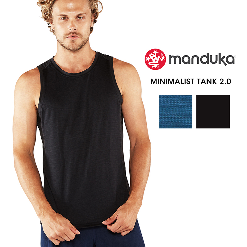 7c0a2917fd Man yoga men yoga wear ☆ [Manduka] MEN'S minimalist tank 2.0 (tank top ...