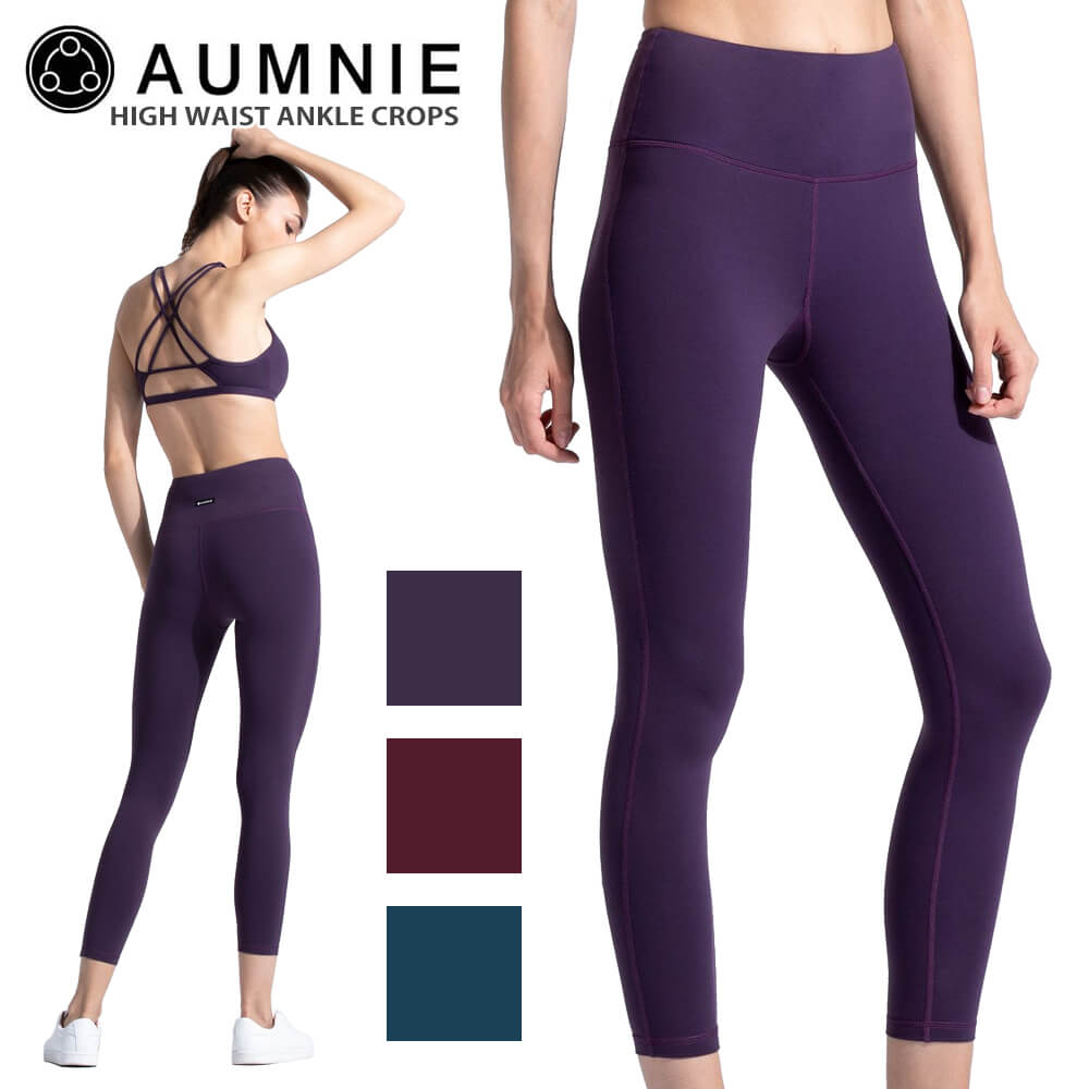 4edc7f30c9933 Simple high waist leggings of the water absorption fast-dry material