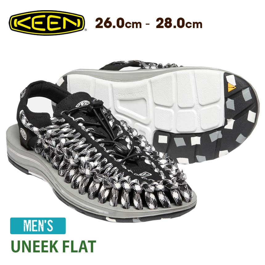 best service dcd65 b75f5 It is 777 yen OFF with a coupon! [KEEN] M' unique flat (shoes for the man)  ★ Kean sneakers UNEEK FLAT shoes outdoor trekking walking camping festival  ...