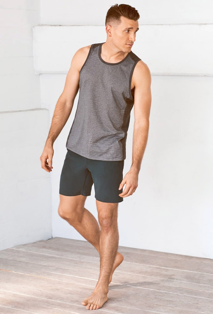 66a94490da Puravida: Man yoga men yoga wear ☆ [Manduka] MEN'S minimalist tank ...