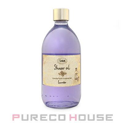 【SABON】サボンシャワーオイル500mlポンプつき  #ラベンダー(Lavender)【メール便は使えません】