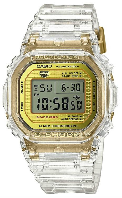 【新品】[カシオ]CASIO 腕時計 G-SHOCK ジーショック GLACIER GOLD DW-5035E-7JR メンズ
