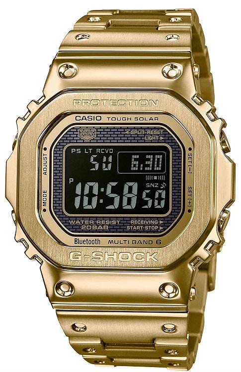 【新品】[カシオ]CASIO Gショック G-SHOCK タフソーラー 電波時計 デジタル 腕時計 メンズ ゴールド GMW-B5000GD-9JF ジーショック