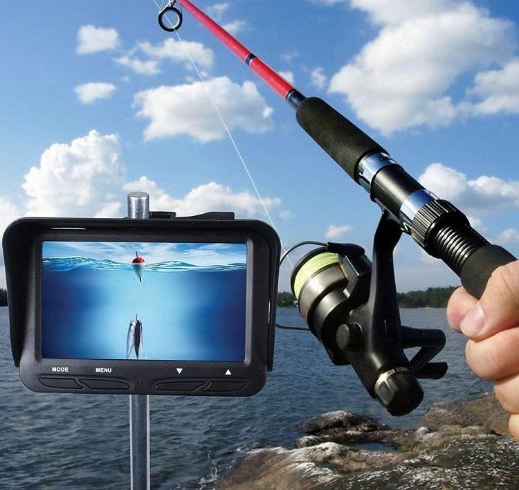 WOpet 魚群探知機 フィッシュファインダー 釣り時水中監視器(4.3インチ 液晶モニター/30M ケーブル/140° 広角レンズ/釣り道具) 大漁魚探 漁師 釣り愛好家 魚群探知機 簡単日本語説明書付き B07DPMHZ4C 667797559625