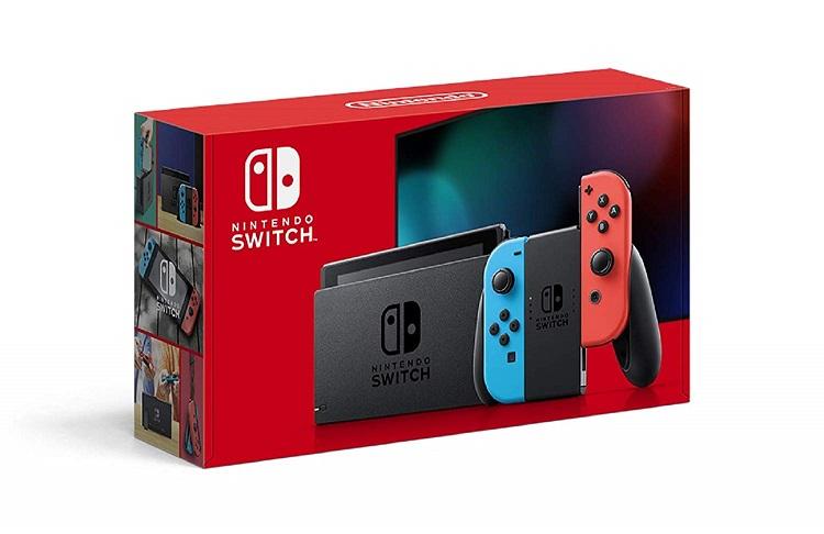 【新モデル】新型Nintendo Switch Joy-Con(L) ネオンブルー/(R) ネオンレッド【2019年8月発売モデル】【バッテリー持続時間が長くなったモデル】任天堂 4902370542912 HAD-S-KABAA
