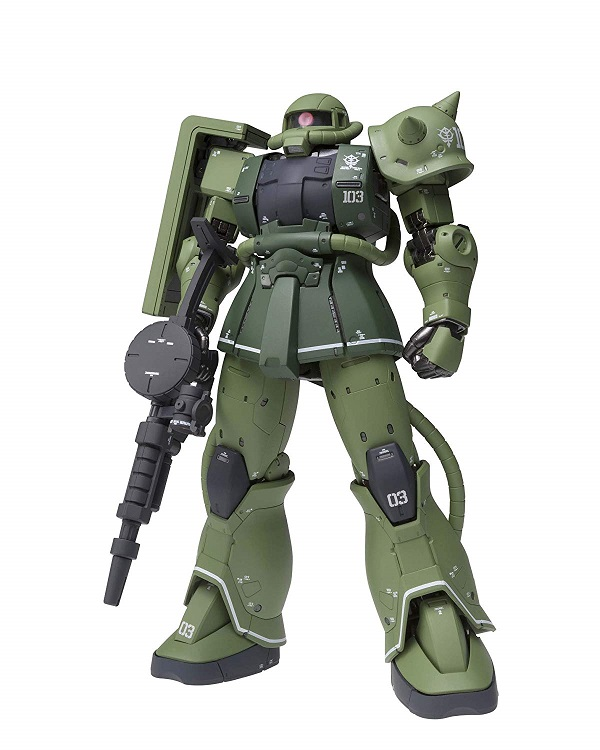 GUNDAM FIX FIGURATION METAL COMPOSITE 機動戦士ガンダム MS-06C ザク C型 約180mm ABS&PVC&ダイキャスト製 塗装済み可動フィギュア