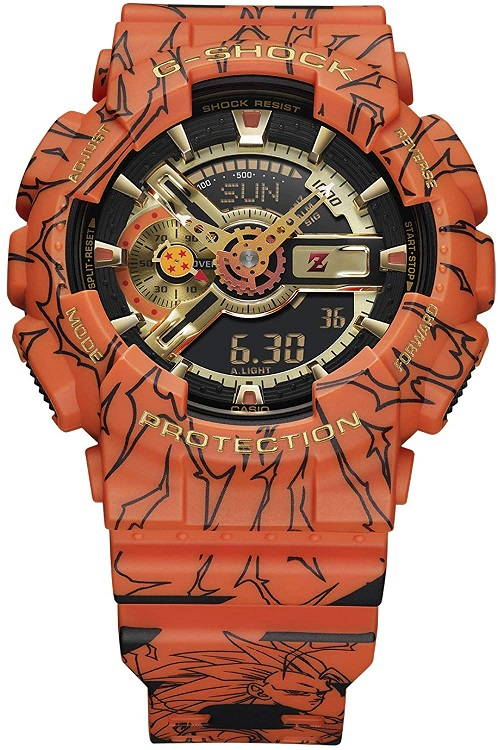 GSHOCK(ジーショック) [カシオ] 腕時計ドラゴンボールZ コラボレーションモデル GA-110JDB-1A4JR メンズ プライスタグ無し