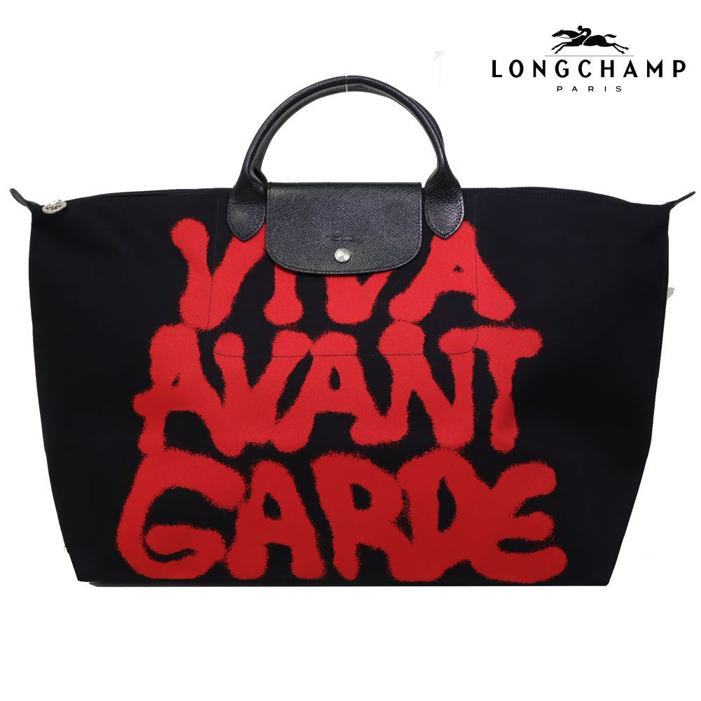 0af82a2c4124 LONGCHAMP(ロンシャン) (NOIR×ROUGE/ノアール×ルージュ)1624-421-068 ...