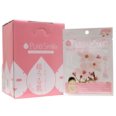 "Pure Smile(纯的微笑)精华口罩""樱花""30张安排FACE-MASK-026"