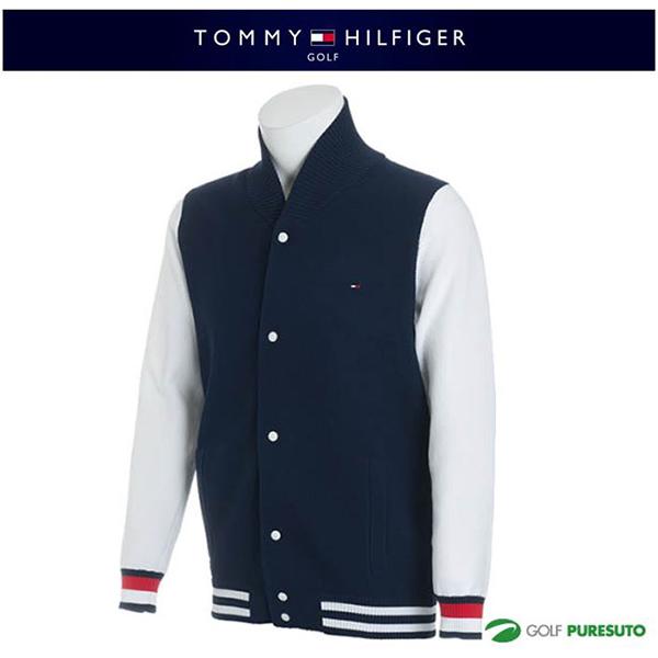 【即納!】トミー ヒルフィガー ゴルフ スタジアム ブルゾンニット セーター THMA836 【あす楽対応】