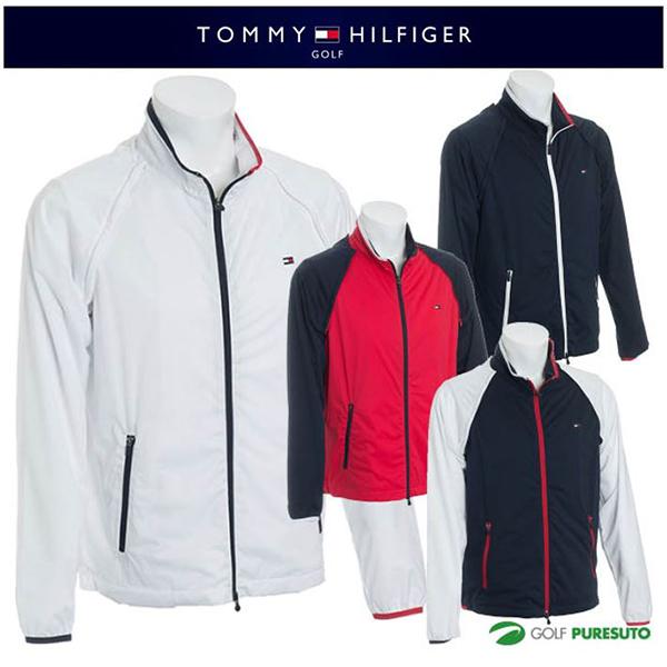 【即納!】トミー ヒルフィガー ゴルフ 2WAY(長袖、ベスト)ウィンドジャケット THMA801 【あす楽対応】