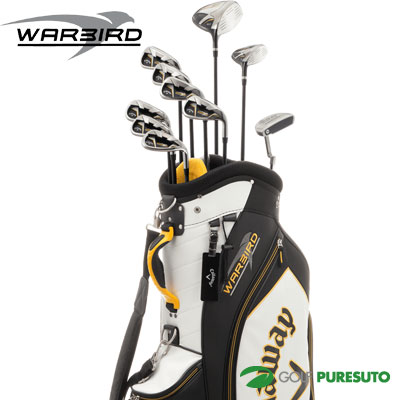 kyarouei WARBIRD高尔夫球杆套装2016年型号10瓶一套(1W,5W,#5~#9,PW,SW,PT)+高尔夫球场服务员包[日本式样][Callaway沃鸟]