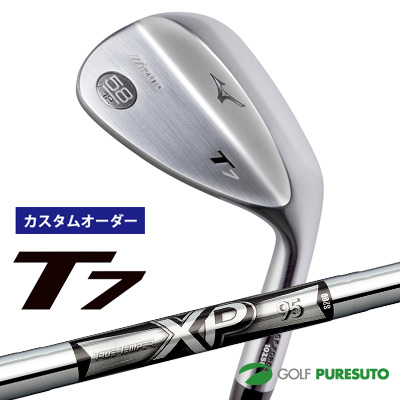 【カスタムオーダー】ミズノ T7 ウェッジ XP95 スチールシャフト[日本仕様][mizuno][TRUE TEMPER]【■MC■】