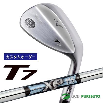 【カスタムオーダー】ミズノ T7 ウェッジ XP115 スチールシャフト[日本仕様][mizuno][TRUE TEMPER]【■MC■】