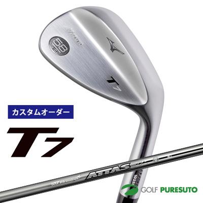 【カスタムオーダー】ミズノ T7 ウェッジ ATTAS Iron 115 カーボンシャフト[日本仕様][mizuno][UST Mamiya]【■MC■】