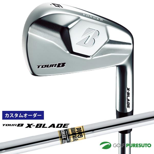 【カスタムオーダー】ブリヂストンゴルフ TOUR B X-BLADE アイアン単品(#3、#4) Dynamic Gold スチールシャフト[日本仕様][ツアー ビー]【■BCO■】