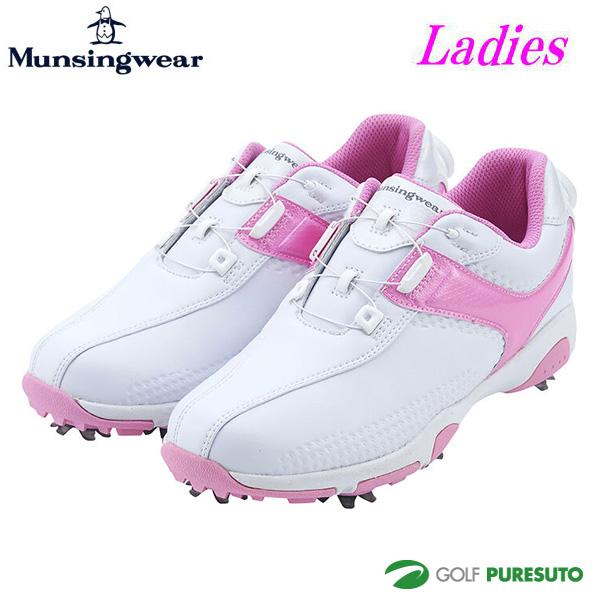 【レディース】マンシングウェア ゴルフシューズ MQ3NJA01