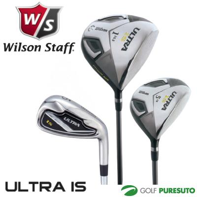 ウィルソン ウルトラ IS 9本セット(W1、W5、I#5~Pw、Sw)[Wilson ULTRA メンズクラブセット 176922]【■Kas■】