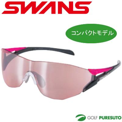 【コンパクトモデル】スワンズ SOU-II-C-M SOU2C-0709 BK/P ブラック/ピンク サングラス Y-168 [Lite ライト SWANS]【■Li■】