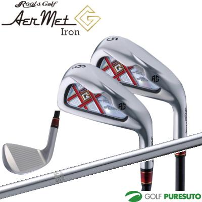 ルーツゴルフ AerMet G アイアン 6本セット(#5~PW)N.S.PRO 950GHシャフト[The roots スチール エヌエスプロ]【■R■】