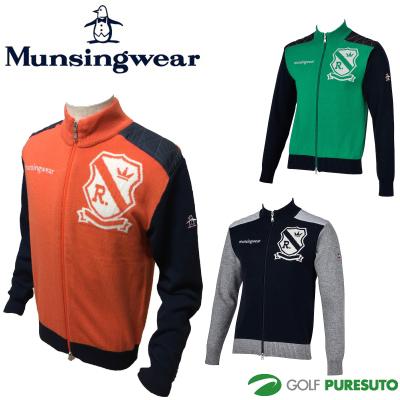 【即納!】マンシングウェア フルジップセーター RM4004 [Munsingwear 2016年秋冬ウェア 防寒]【あす楽対応】