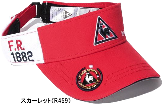 Sun visor QG0267 [le coq sportif GOLF autumn of 2017 winter wear hat] working under Le Coq golf marker