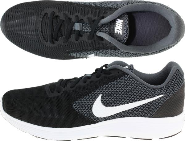 detailed look eacee ed8c4 ... nike revolution 3 men nike revolution 3 mens running shoes 819300 001  dark gray nike walking