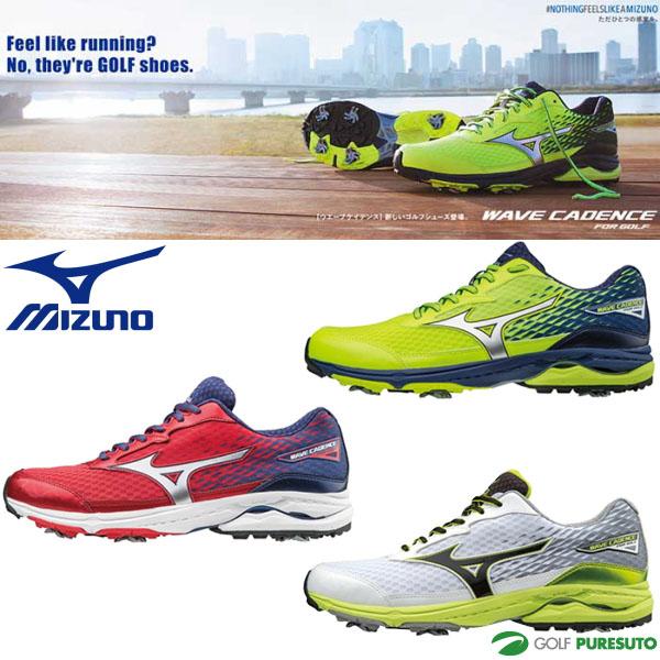 【即納!】ミズノ ウエーブケイデンス ゴルフシューズ メンズ 51GM1750** [EEE][Mizuno WAVE CADENCE 靴 ウェーブ]【あす楽対応】