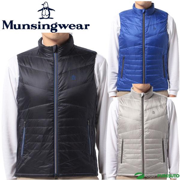 【即納!】マンシングウェア メンズ ダウンベスト JWMK653 [Munsingwear 2017年秋冬ウェア 防寒]【あす楽対応】