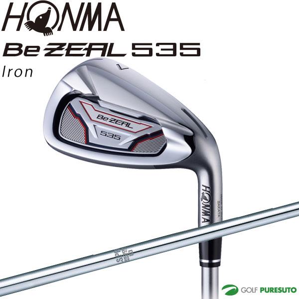 本間ゴルフ Be ZEAL 535 アイアン 5本セット(#6~#10) NS PRO 950GHシャフト【■Ho■】