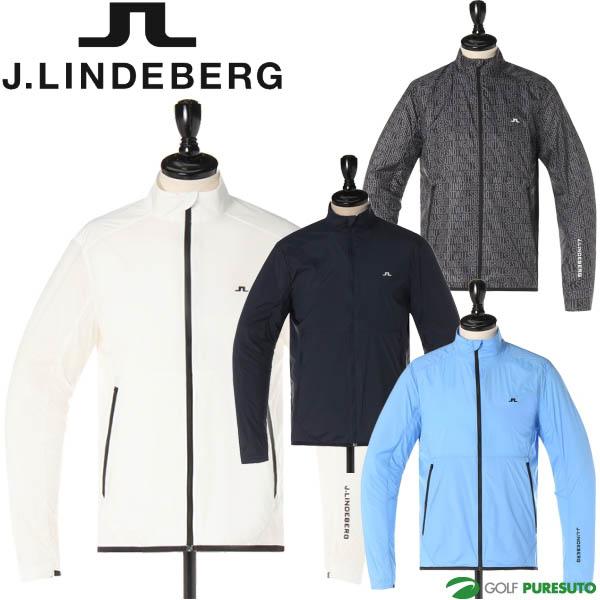 【即納!】J.リンドバーグ ゴルフ フルジップウィンドジャケット メンズ 071-57213 薄手【あす楽対応】