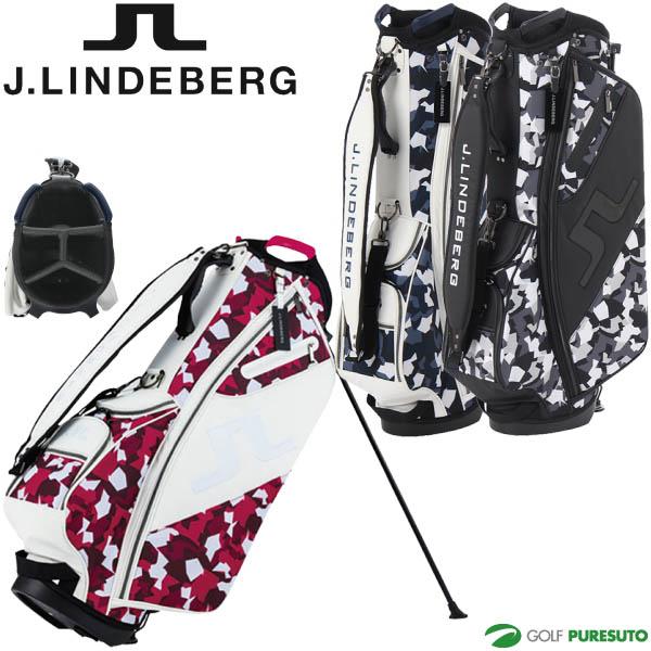 【即納!】J.リンドバーグ ゴルフ 9.5型 キャディバッグ デジカモリミテッド JL-016S/083-17300 スタンド式【あす楽対応】
