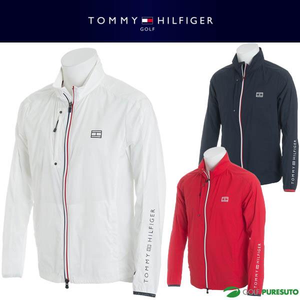【即納!】トミー ヒルフィガー ゴルフ ポケッタブル ウィンドジャケット メンズ THMA821 【あす楽対応】